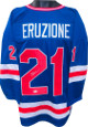 Mike Eruzione signed Team USA Blue Custom Hockey Jersey XL- JSA Witnessed (Miracle 1980 Olympics vs Soviet Union)