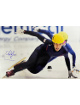 Apolo Anton Ohno signed US Olympic World Champion Speed Skater 12x18 Photo- JSA #N88669