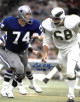 Bob Lilly signed Dallas Cowboys 11x14 Photo HOF 80- JSA Witnessed