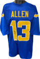 Keenan Allen signed Royal Blue Custom Stitched Pro Style Football Jersey XL- JSA Witnessed