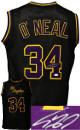 Shaquille O'Neal signed Los Angeles Custom Stitched Black Pro Basketball Jersey– JSA Witnessed