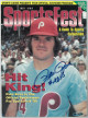 Pete Rose signed 1998 Sportsfest Magazine #4256- Upper Deck Authenticated #BAE78696 (Philadelphia Phillies/Hit King)