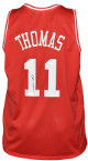 Isiah Thomas signed Indians Red Custom Stitched College Basketball Jersey XL- JSA Witnessed