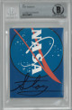Story Musgrave signed 3.5x4.5 Cut Signature- Beckett Encapsulated (NASA Astronaut Apollo/STS Space Shuttle Missions)