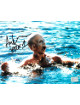 Ari Lehman signed Friday the 13th Jason Voorhees 8x10 Photo w/ Jason 1- Lehman Hologram (in lake)