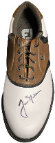 Jack Nicklaus signed FootJoy Originals Left Golf Cleat/Shoe Size 9- JSA LOA #BB95722