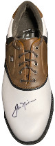 Jack Nicklaus signed FootJoy Originals Right Golf Cleat/Shoe Size 9- JSA LOA #BB95721