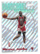 Michael Jordan 1997-98 Topps Stadium Club Hardcourt Heroics Holographic Foil Insert Card #H1 (Chicago Bulls)
