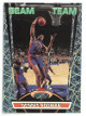 Dennis Rodman 1992-93 Topps Stadium Club Foil Beam Team Card #19 of 21 (Detroit Pistons)