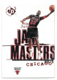 Michael Jordan 1997-98 Upper Deck UD3 Jam Masters Card #15 (Chicago Bulls)