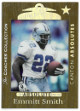 Emmitt Smith 1999 Playoff Absolute SSD Coaches Collection Gold Card #113- LTD 437/500 (Dallas Cowboys)