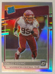 Chase Young 2020 Donruss Optic Silver Holo Prizm Rated Rookie (RC) #166 (Washington Football Team)
