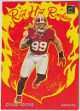 Chase Young 2020 Panini Donruss Red Hot Rookies Insert Rookie Card (RC) #RH-CY (Washington Football Team)