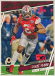 Chase Young 2020 Prestige Xtra Points Green Foil Rookie Card (RC) #220 (Washington Football Team/Ohio State)