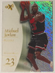 Michael Jordan 1997-98 Skybox EX2001 Acetate Card #9 imperfect (Chicago Bulls)