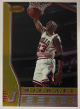 Michael Jordan 1996-97 Bowman's Best Chrome Card #80 (Chicago Bulls)