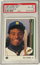 Ken Griffey, Jr. 1989 Upper Deck Star Rookie Card (RC) #1- PSA Graded EX-MT 6 (Seattle Mariners)