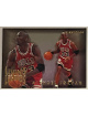 Michael Jordan 1993-94 Fleer Living Legends Insert Card #406 (Chicago Bulls)