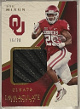 Joe Mixon 2017 Panini Immaculate Player Worn Cleats Card #22- LTD 16/20 (Oklahoma Sooners)
