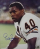 Gale Sayers signed Chicago Bears 16x20 Photo w/ #40- Sayers Hologram