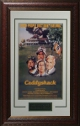 Caddyshack Movie Poster Leather Framing 20x28 Chevy Chase, Bill Murray, Rodner Dangerfield