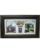 Arnold Palmer 1961-1995 St Andrews British Open 3 Photo/Scorecard - Premium Leather Framing