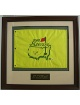 Ian Woosnam signed 2000 Masters Flag Custom Framed