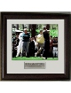 Tiger Woods 1996 Masters Augusta 11x14 (on the tee) - Premium Custom Leather Framing