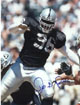 Darrell Russell signed Oakland Raiders 8x10 Photo minor ding (deceased)