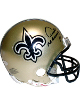 Archie Manning signed New Orleans Saints Replica Mini Helmet- Steiner Hologram