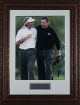 Fred Couples & Phil Mickelson 2006 Masters 16x20 Photo - Premium Leather Framing