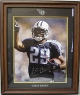 Chris Brown signed Tennessee Titans 16X20 PhotoCustom Laser Logo Framing