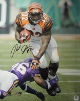 Rudi Johnson signed Cincinnati Bengals 16x20 Photo minor ding
