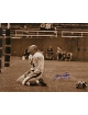Y.A. Tittle signed New York Giants Blood 16x20 (Sepia- horizontal) Photo HOF71