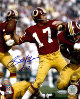 Billy Kilmer signed Washington Redskins 16X20 Photo