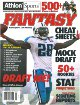 Chris Johnson unsigned Tennessee Titans 2010 Athlon Fantasy Football 8x10 Cover