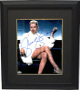 Sharon Stone signed Basic Instinct 16X20 Photo Framed Famous Leg Crossed Right w/Cigarette-PSA (entertainment/movie memorabilia)