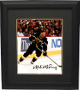 Mike Modano signed Dallas Stars 8x10 Photo #9 Custom Framed (black jersey skating)