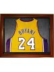 Basketball Jersey Deluxe Half Display Case Wood