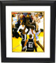 Shaquille O'Neal signed Los Angeles Lakers 8x10 Photo Custom Framing - JSA Hologram