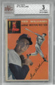 Ted Williams Boston Red Sox 1954 Topps Baseball Card #1- Beckett Graded 3 Very Good
