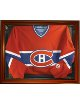 Hockey Jersey Deluxe Half Display Case Wood