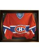 Hockey Jersey Deluxe Half Display Case Black