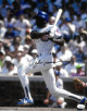 Andre Dawson signed Chicago Cubs 11x14 Photo- JSA Hologram #CC08496 (batting)