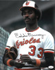 Eddie Murray signed Baltimore Orioles 11X14 Photo- JSA Hologram #CC08495 (white jersey)