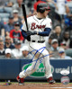 Freddie Freeman signed Atlanta Braves 8x10 Photo #5- JSA Hologram (swing through)