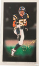"Junior Seau signed San Diego Chargers 16x27 Lithograph/Photo #55 ""BUG""- Limited Edition of 55- JSA Hologram"