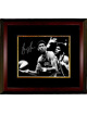 George Gervin signed Virginia Squires ABA 8x10 Vintage B&W Photo Custom Framed (horizontal)