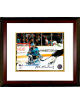 Mike Modano signed Dallas Stars 8x10 Photo Custom Framed #9 (horizontal goal vs Sharks)