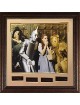 Wizard of Oz 16X20 Photo Engraved Quote Series Premuim Leather Framing 28x29 Judy Garland, Jack Haley, Ray Bolger